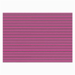 Lines pattern Large Glasses Cloth