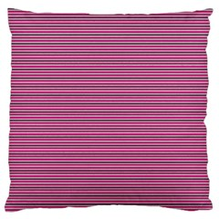 Lines pattern Large Flano Cushion Case (Two Sides)