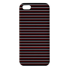 Lines pattern iPhone 5S/ SE Premium Hardshell Case