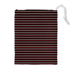Lines pattern Drawstring Pouches (Extra Large)