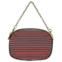 Lines pattern Chain Purses (One Side)
