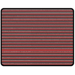Lines pattern Double Sided Fleece Blanket (Medium)