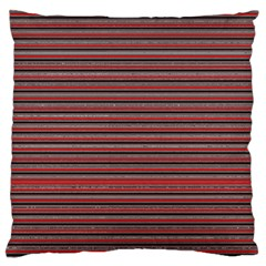 Lines pattern Standard Flano Cushion Case (Two Sides)