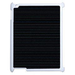 Lines pattern Apple iPad 2 Case (White)