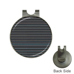 Lines pattern Hat Clips with Golf Markers