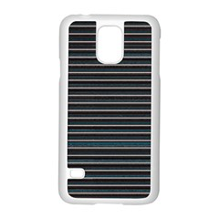 Lines pattern Samsung Galaxy S5 Case (White)