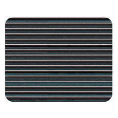Lines Pattern Double Sided Flano Blanket (large)