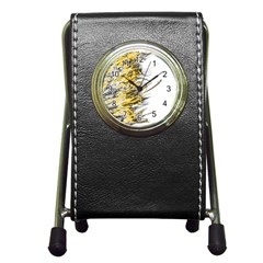 Fire Pen Holder Desk Clocks