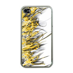 Fire Apple iPhone 4 Case (Clear)