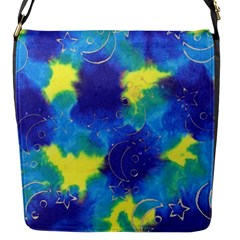 Mulberry Paper Gift Moon Star Flap Messenger Bag (S)