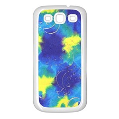 Mulberry Paper Gift Moon Star Samsung Galaxy S3 Back Case (White)