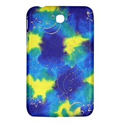 Mulberry Paper Gift Moon Star Samsung Galaxy Tab 3 (7 ) P3200 Hardshell Case