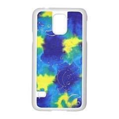 Mulberry Paper Gift Moon Star Samsung Galaxy S5 Case (White)