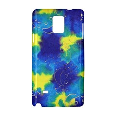 Mulberry Paper Gift Moon Star Samsung Galaxy Note 4 Hardshell Case