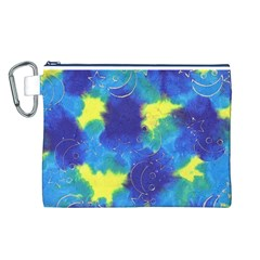 Mulberry Paper Gift Moon Star Canvas Cosmetic Bag (L)
