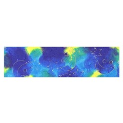 Mulberry Paper Gift Moon Star Satin Scarf (Oblong)