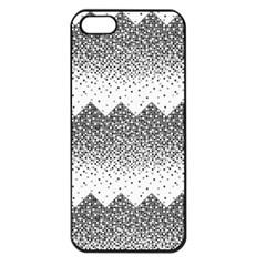Original Plaid Chevron Wave Apple iPhone 5 Seamless Case (Black)