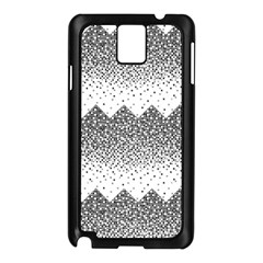 Original Plaid Chevron Wave Samsung Galaxy Note 3 N9005 Case (Black)