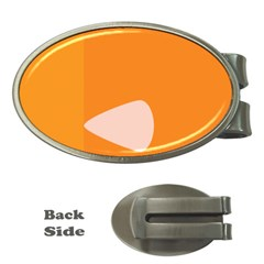 Screen Shot Circle Animations Orange White Line Color Money Clips (Oval)