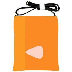 Screen Shot Circle Animations Orange White Line Color Shoulder Sling Bags