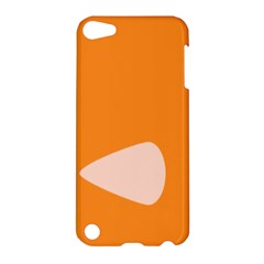 Screen Shot Circle Animations Orange White Line Color Apple iPod Touch 5 Hardshell Case