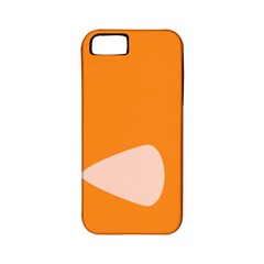 Screen Shot Circle Animations Orange White Line Color Apple iPhone 5 Classic Hardshell Case (PC+Silicone)