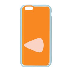 Screen Shot Circle Animations Orange White Line Color Apple Seamless iPhone 6/6S Case (Color)