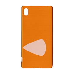 Screen Shot Circle Animations Orange White Line Color Sony Xperia Z3+