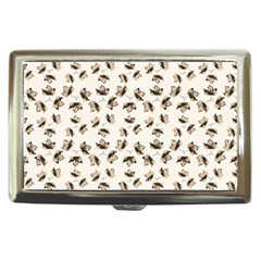Autumn Leaves Motif Pattern Cigarette Money Cases