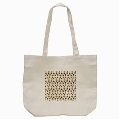 Autumn Leaves Motif Pattern Tote Bag (Cream)