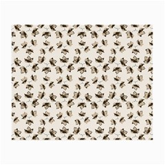 Autumn Leaves Motif Pattern Small Glasses Cloth (2-Side)