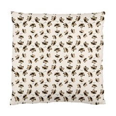 Autumn Leaves Motif Pattern Standard Cushion Case (One Side)