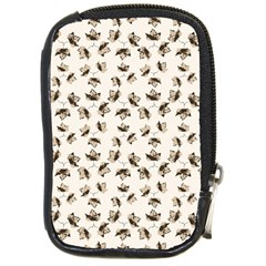 Autumn Leaves Motif Pattern Compact Camera Cases
