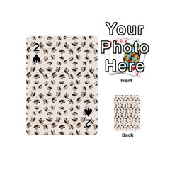Autumn Leaves Motif Pattern Playing Cards 54 (Mini)