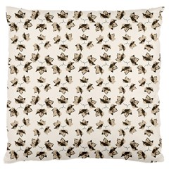 Autumn Leaves Motif Pattern Large Cushion Case (One Side)