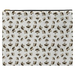 Autumn Leaves Motif Pattern Cosmetic Bag (XXXL)