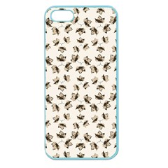 Autumn Leaves Motif Pattern Apple Seamless iPhone 5 Case (Color)