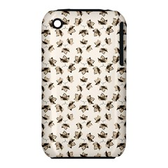 Autumn Leaves Motif Pattern iPhone 3S/3GS