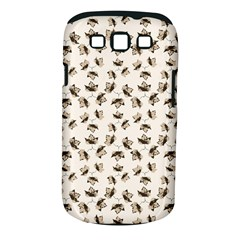 Autumn Leaves Motif Pattern Samsung Galaxy S III Classic Hardshell Case (PC+Silicone)