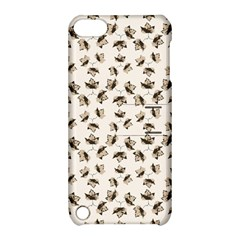 Autumn Leaves Motif Pattern Apple iPod Touch 5 Hardshell Case with Stand