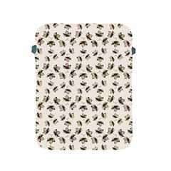 Autumn Leaves Motif Pattern Apple iPad 2/3/4 Protective Soft Cases
