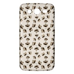 Autumn Leaves Motif Pattern Samsung Galaxy Mega 5.8 I9152 Hardshell Case