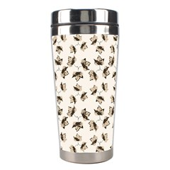 Autumn Leaves Motif Pattern Stainless Steel Travel Tumblers
