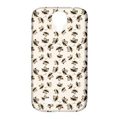 Autumn Leaves Motif Pattern Samsung Galaxy S4 Classic Hardshell Case (PC+Silicone)