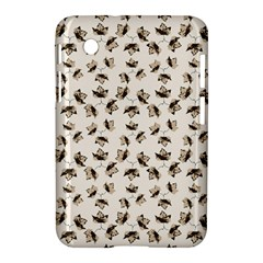 Autumn Leaves Motif Pattern Samsung Galaxy Tab 2 (7 ) P3100 Hardshell Case