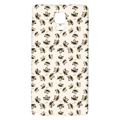Autumn Leaves Motif Pattern Galaxy Note 4 Back Case