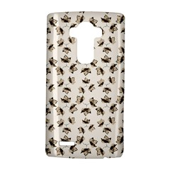 Autumn Leaves Motif Pattern LG G4 Hardshell Case