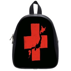Sign Health Red Black School Bags (Small)