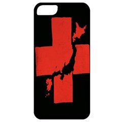Sign Health Red Black Apple iPhone 5 Classic Hardshell Case