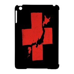Sign Health Red Black Apple iPad Mini Hardshell Case (Compatible with Smart Cover)